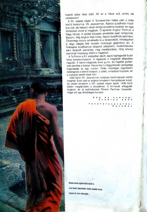 Kőbe vésett mágia - Kambodzsa - ceremóniamester ajánlja