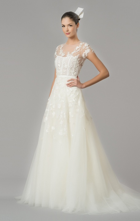 Carolina Herrera's wedding dresses I.  - Master of Ceremony recommends for U