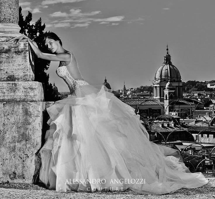 Newest Alessandro Angelozzi Couture's wedding dresses - Master of Ceremony recommends 4 U