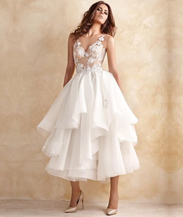 Kristina Fidelskaya eszméletlen esküvői ruhái - Ceremóniamester ajánlja