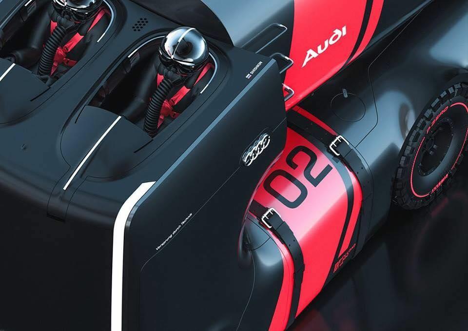 A jövő AUDI vontatós autója - Ceremóniamester ajánlja