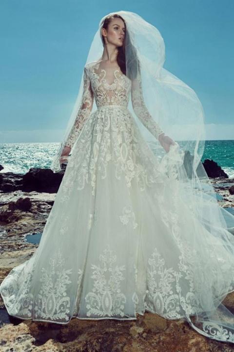 Zuhair Murad Bridal  2017-es esküvői ruha kollekciója - Ceremóniamester ajánlja