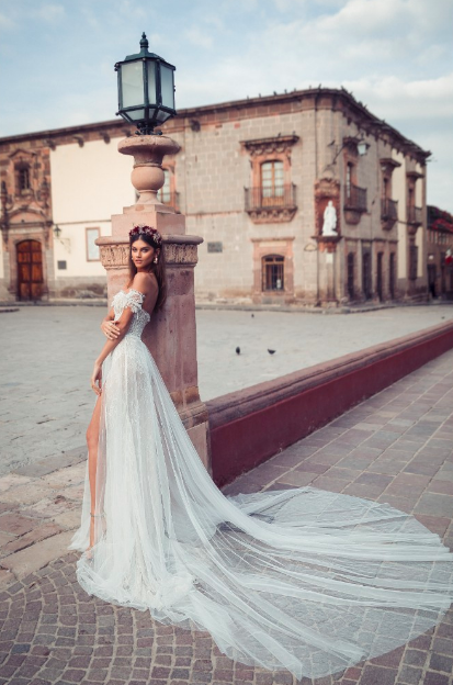 JULIE VINO 2019 MEXICAN DREAM WEDDING DRESSES  part two - MASTER OF CEREMONY RECOMMENDS 4U