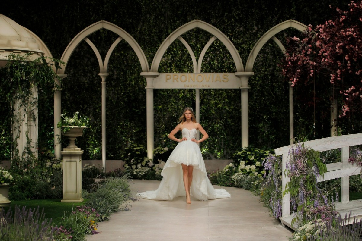Pronovias dreamly wedding dresses part two - MASTER OF CEREMONY RECOMMENDS 4U