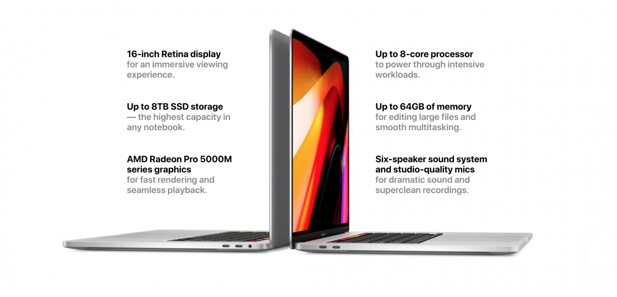 Új Apple Macbook Pro 16 - Ceremóniamester ajánlja