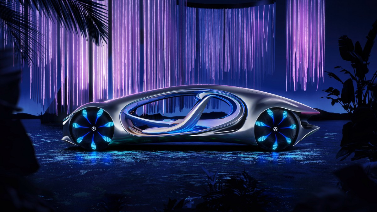 Mercedes-Benz - Vision AVTR concept, design from the film Avatar  - Master of Ceremonies recommends for You