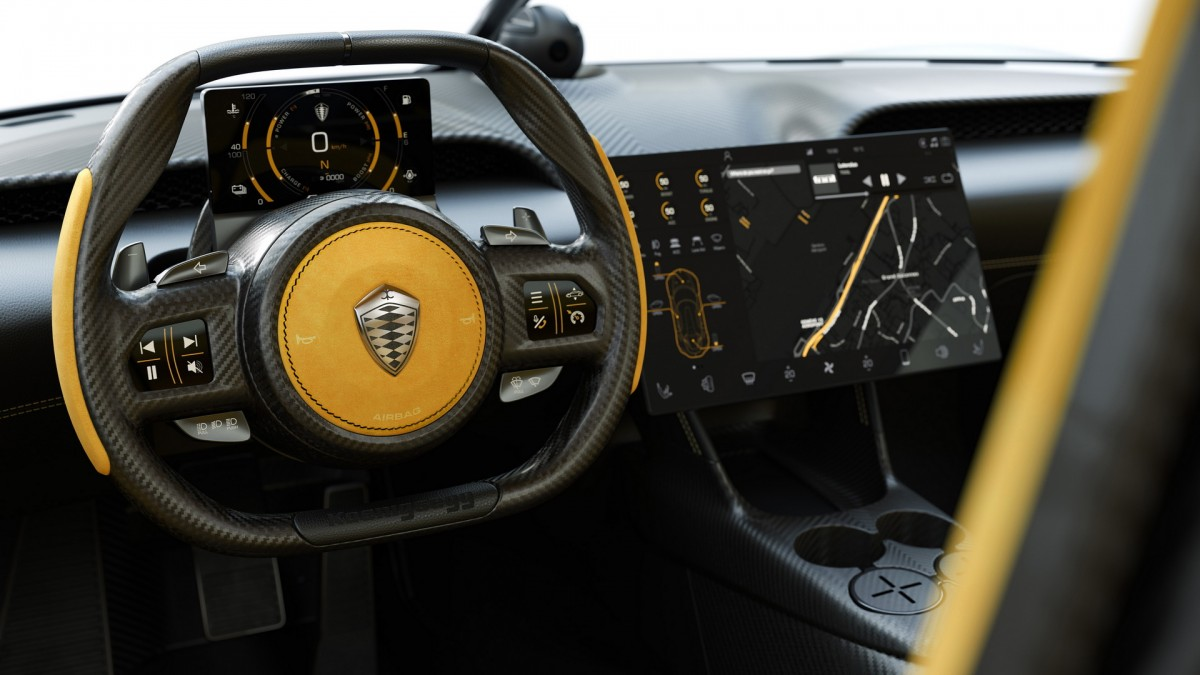 Koenigsegg Gemera - a Mega GT - Ceremóniamester ajánlja