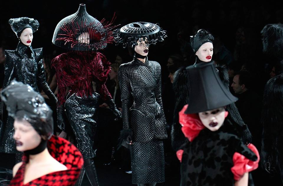 FROM the FASHION SHOWS  - ALEXANDER MCQUEEN - Master of Ceremonies recommends for You