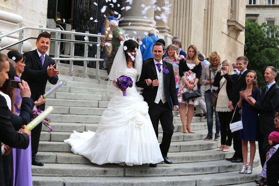 Niamh and Csabi - Írország - és a Ceremóniamester