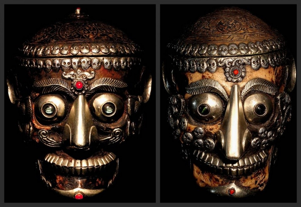 Ceremóniamester ajánlja -Tibeti csontkoponya avagy egy kis bevezetés a tibeti misztikumokba