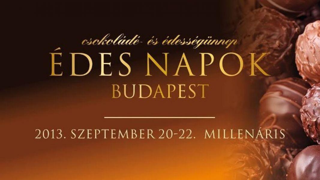 Wow csoki!? Akkor az Édes Napok Budapest-en a helyed! - Ceremóniamester ajánlja