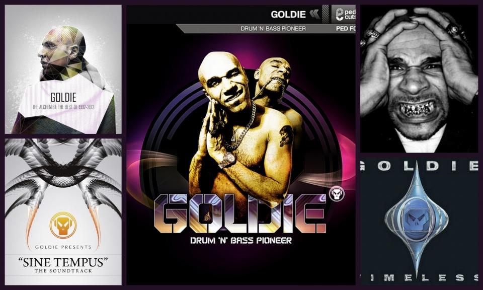 Ha drum and bass vagy aranyfog akkor Goldie! - szombati programként a ceremóniamester ajánlja!