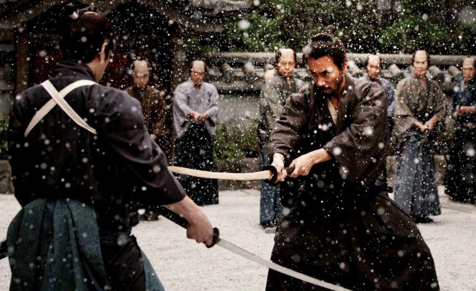 ...és megint egy szamuráj film : 47 ronin Keanu Reeves főszereplésével - a ceremóniamester a meg 'ne nézd'kategóriába sorolja