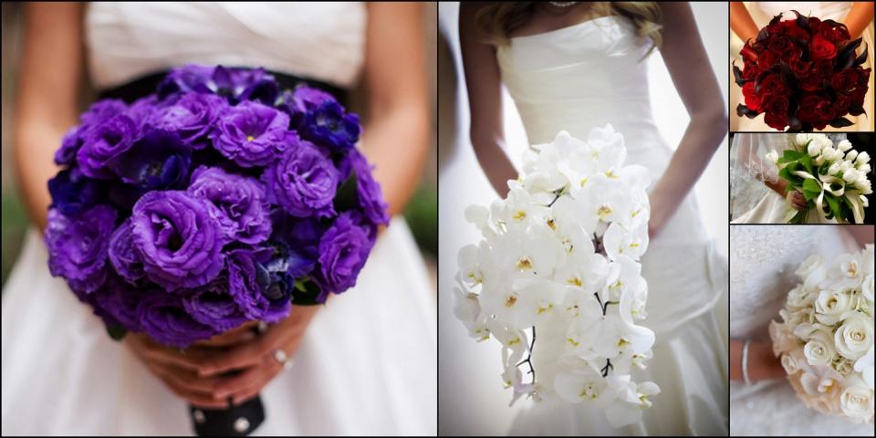 Esküvői menyasszonyi csokor és a ceremóniamester