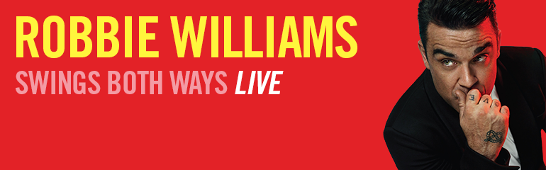 Csajok, lehet sikoltozni, mert hamarosan Robbie Williams - Budapesten!!!!! - ceremóniamester csajsziknak ajánlja