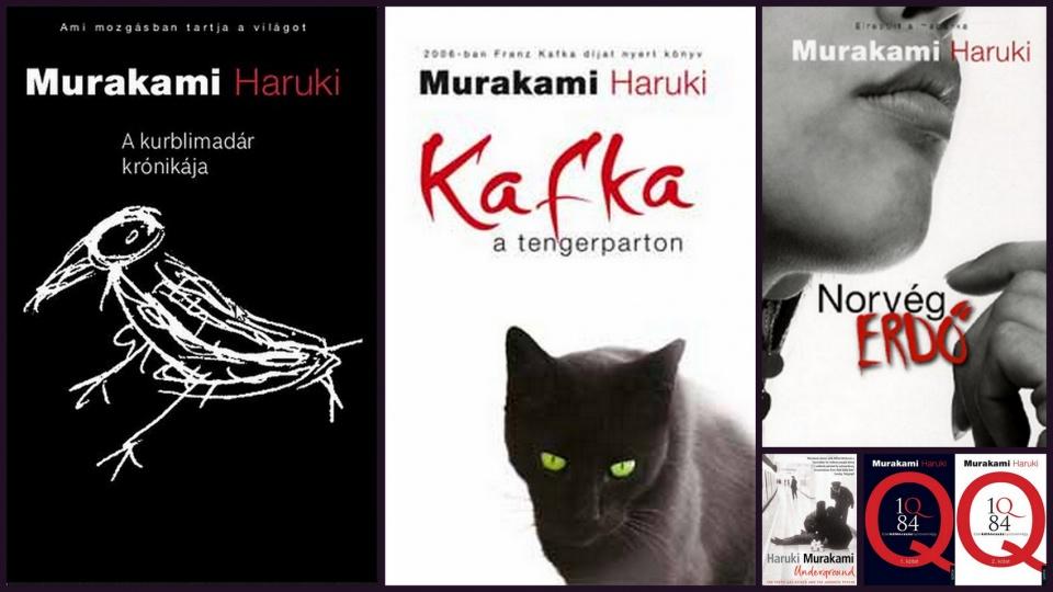 65 éves Haruki Murakami 村上春樹 japán író - ceremóniamester ajánlja