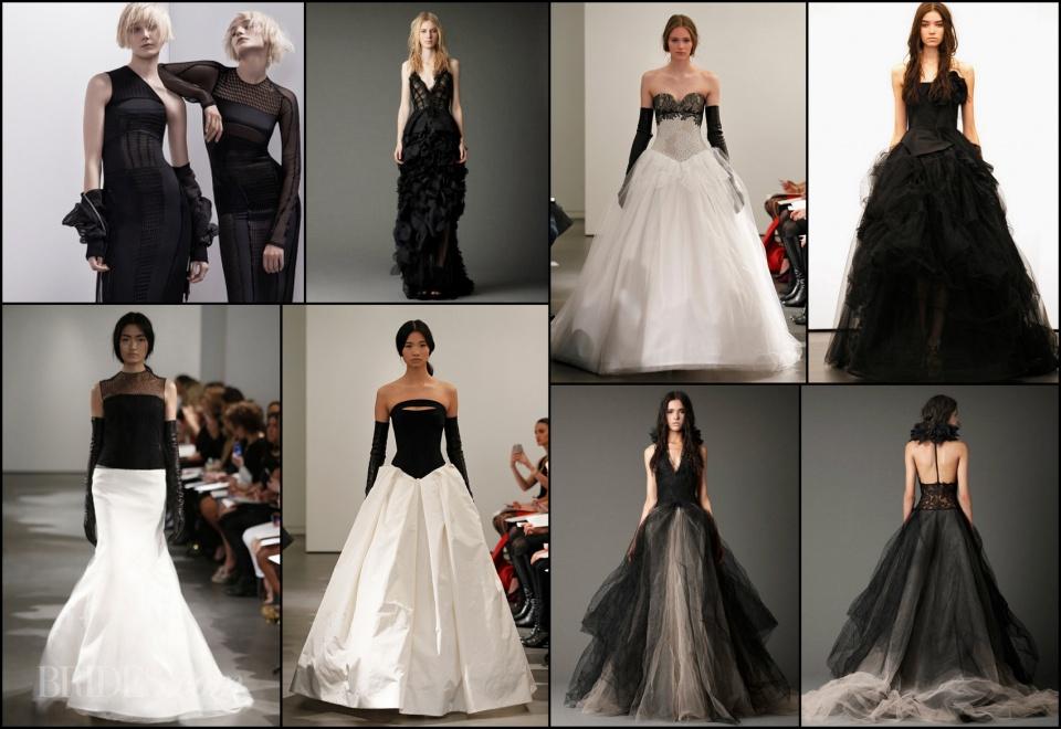 Fekete esküvői ruha trend 2014 - ceremóniamester ajánlja