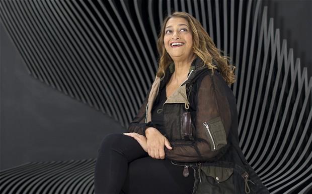 Megint egy kis építészet : Zaha Hadid- ceremóniamester ajánlja