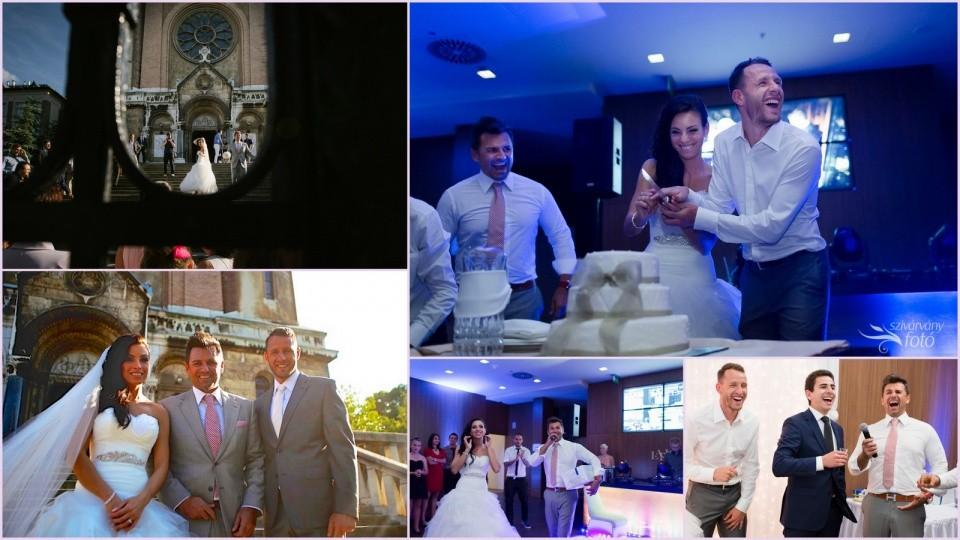 Fradis Focista Esküvő : Kriszti & Hidvégi Sándor (FTC) meg a ceremóniamester