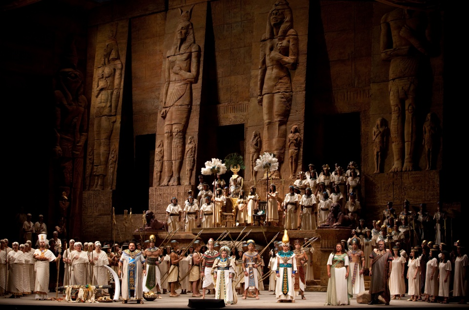 Verdi : Aida, a Margitszigeten - Ceremóniamester ajánlja