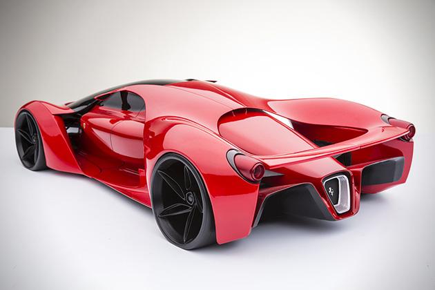 Egy nagyágyú - FERRARI F80 Concept - CEREMÓNIAMESTER ajánlja