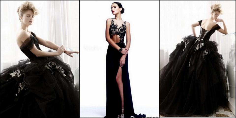Fekete esküvői ruhák - Te felvennéd!? - ceremóniamester ajánlja