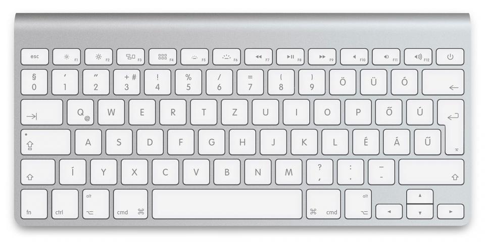Na végre!!!! - Jön a világítós Apple billentyűzet!? -ceremóniamester ajánlja