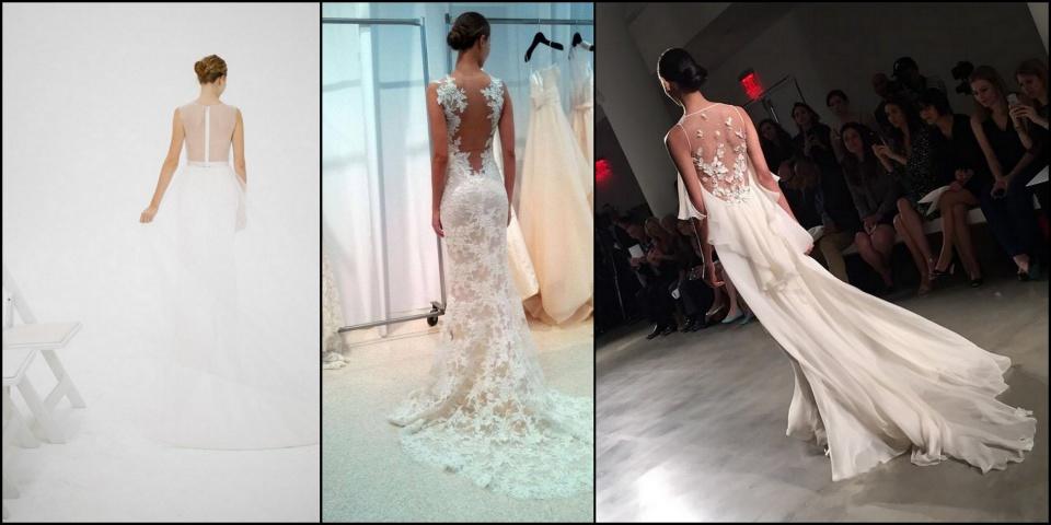 A heti új csodás esküvői ruhák Neked - ceremóniamester ajánlja