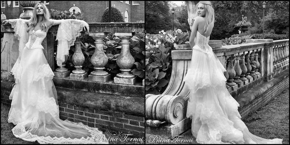Új esküvői ruhák Pnina Tornai-tól  - ceremóniamester ajánlja