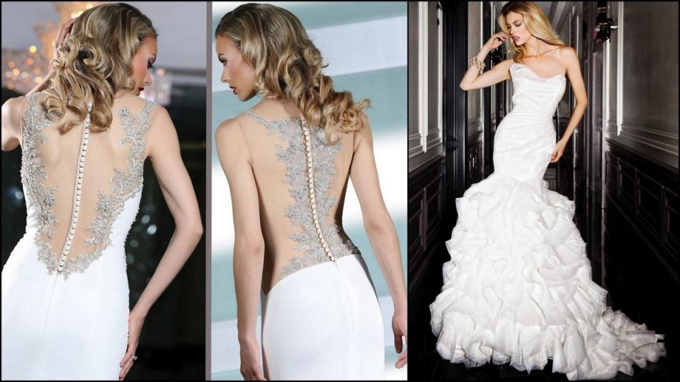 Újabb csokor szépséges esküvői ruha - Ceremóniamester ajánlja