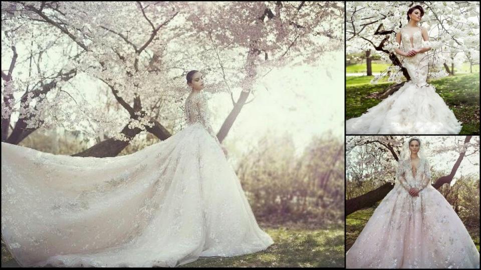 A legújabb csokor álomszép esküvői ruha - Ceremóniamester ajánlja