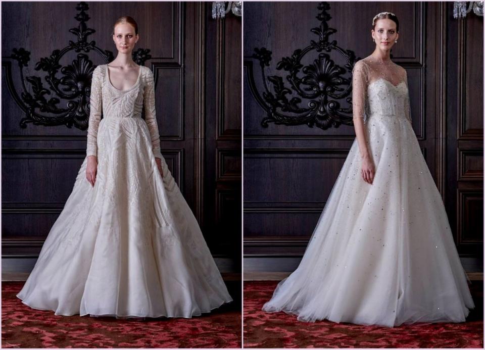 A legfrissebb csokor egyszerűen szépséges esküvői ruha Neked - Ceremóniamester ajánlja