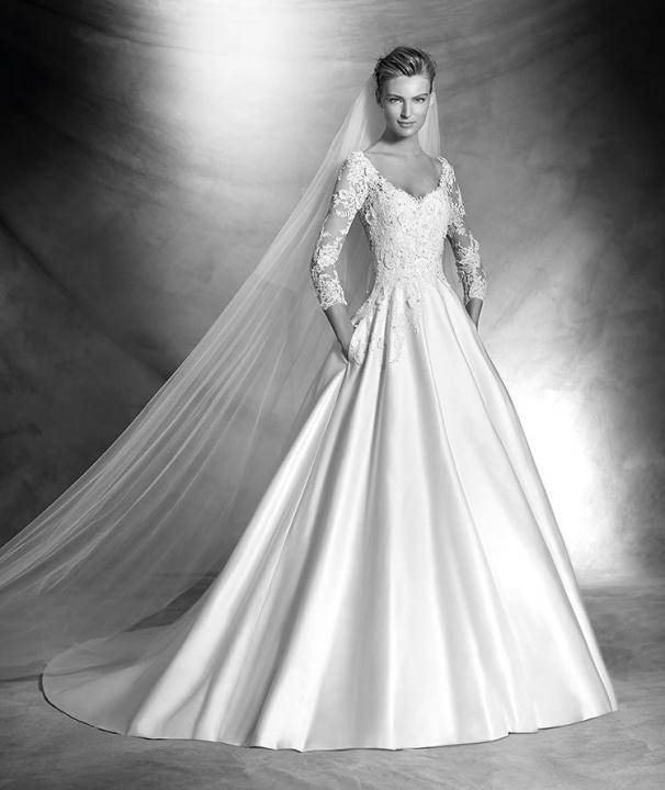Az e heti csokor szépséges esküvői ruha - Ceremóniamester ajánlja