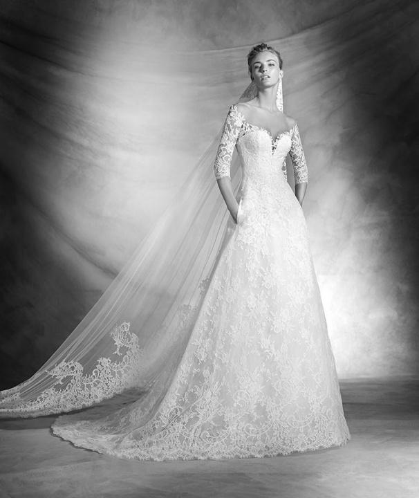 Szépséges PRONOVIAS 2016 esküvői ruhák II rész - Ceremóniamester ajánlja