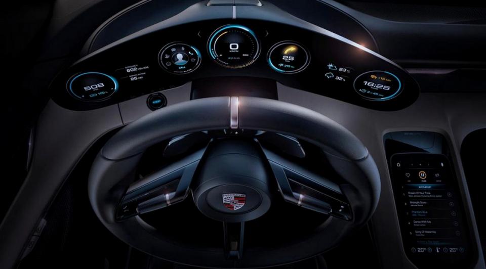 Elektromos Porsche - Ceremóniamester ajánlja