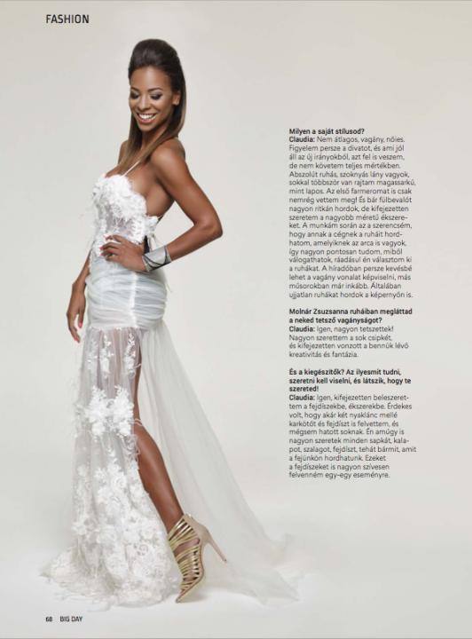 Ceremóniamester ajánlja :  fotózás Aryee Claudiával - Molnár Zsuzsa esküvői ruhák