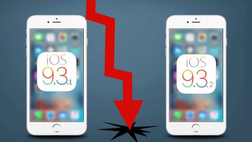 iOS 9.3.2 - az Apple ismét elcseszett  egy szoftverfrissítést - GRATULA!!!  - ceremóniamester ajánlja