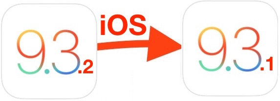 How to Downgrade iOS 9.3.2 to iOS 9.3.1 - Master of Ceremony recommends 4 U