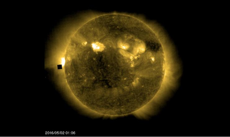 Űrkocka a napnál - idegen lények vagy csak fotó anomália? - Ceremóniamester ajánlja