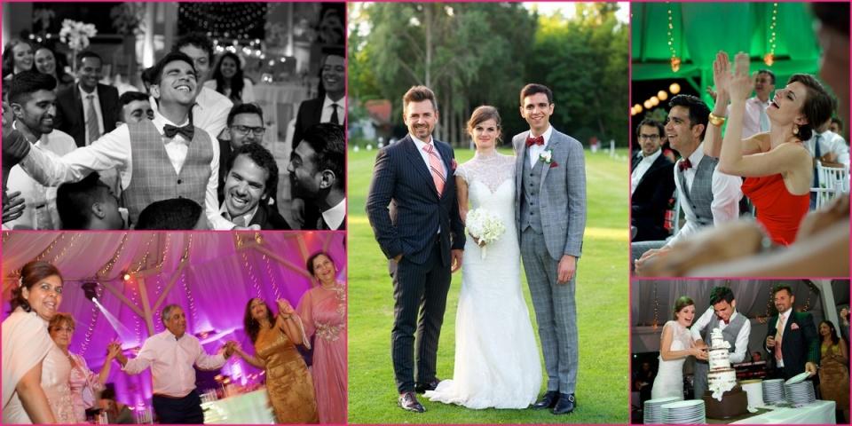 Virag és Kiran , az indiai-magyar esküvő, no meg a Ceremóniamester