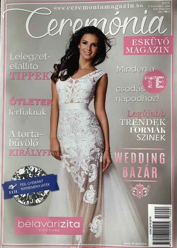 Ismét a Ceremónia esküvői magazinban a Ceremóniamester -ed