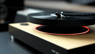 The First Levitating Turntable - Master of ceremony recommends 4U