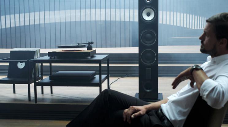 A világ első levitációs lemezjátszója - MAG-LEV Audio - ceremóniamester ajánlja