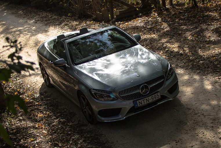 Mercedes-Benz C300 Cabrio - Ceremóniamester ajánlja