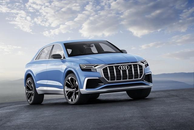 Detroiti Autószalon - itt az új Audi Q8 - ceremóniamester ajánlja