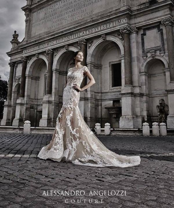 Alessandro Angelozzi Couture ámulatba ejtő esküvői ruhák. - Ceremóniamester ajánlja