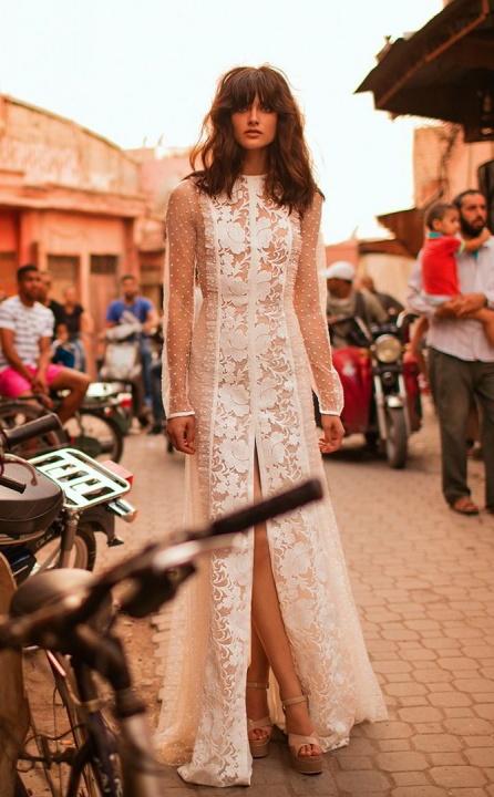 Liz Martinez 2017-es ámulatba ejtő esküvői ruhái. - Ceremóniamester ajánlja