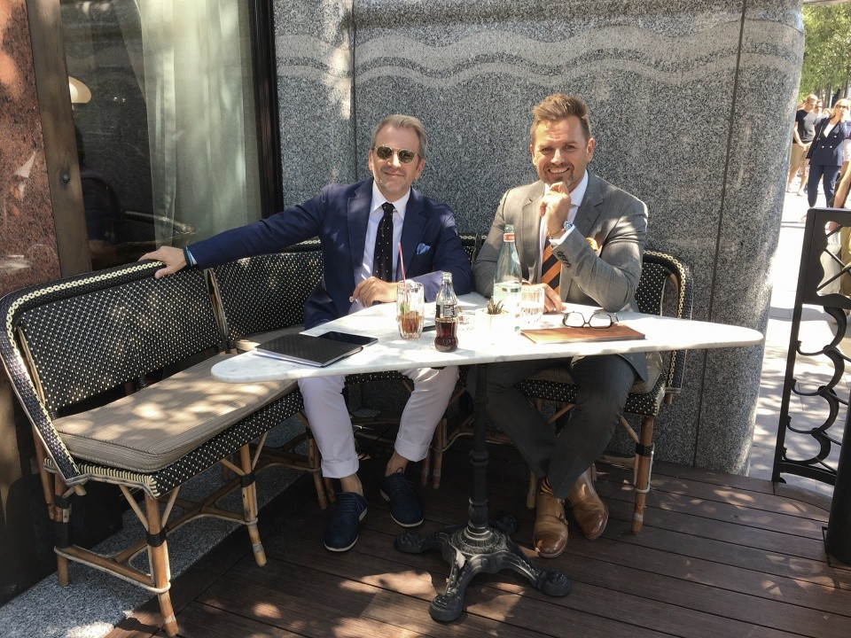 Schiffer Miklós interjúja velem, a ceremóniamester -rel