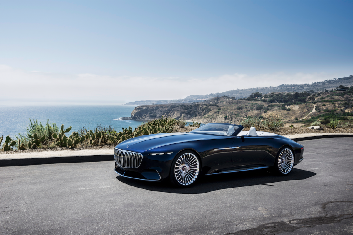 NEW Mercedes-Maybach concept is a 20ft-long converible - MASTER OF CEREMONY RECOMMENDS 4U