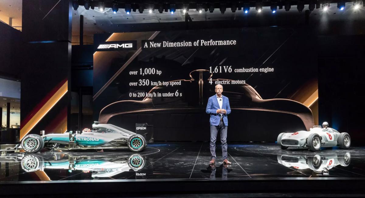 Mercedes-AMG Project One a  2,7 millió dolláros F1 autó az utcákon - Ceremóniamester ajánlja